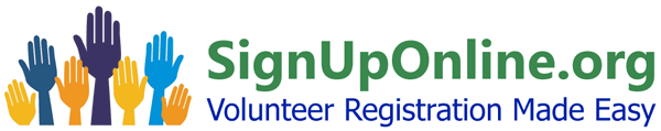 Volunteer Management Online Registration